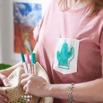 Tolles Kaktus-Shirt