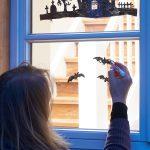 Schaurigschöne Halloween Fensterdeko